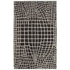 LR Resources Jaali Charcoal Rug