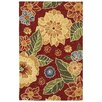 <strong>Orleans Red Indoor/Outdoor Rug</strong> by LR Resources