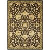 <strong>LR Resources</strong> Antigua Brown/Green Floral Rug