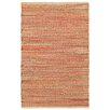 LR Resources Accent Rust Area Rug