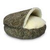 <strong>Cozy Cave Luxury Orthopedic Hooded Dog Bed</strong> by Snoozer Pet Products