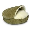 <strong>Snoozer Pet Products</strong> Cozy Cave Luxury Hooded Dog Bed