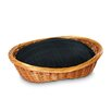 Snoozer Pet Products Wicker Blackwatch Plaid Dog Basket and Bed