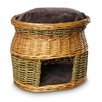 <strong>Snoozer Pet Products</strong> Luxury Wicker Double Decker Cat Basket and Bed