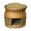 Snoozer Pet Products Luxury Wicker Double Decker Cat Basket and Bed