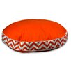 Pool and Patio Round Chevron Dog Pillow