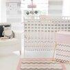 My Baby Sam Chevron Baby Crib Bumper