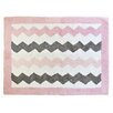 My Baby Sam Chevron Baby Pink/Gray Kids Rug