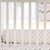 My Baby Sam Chevron Baby Polka Dot Crib Sheet