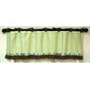 Paisley Splash In Lime Curtain Valance
