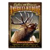 American Expedition Elk Tin Sign Magnet Wall Art