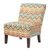 Mi-Zone Madison Park Hayden Curved Back Slipper Chair