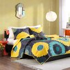 Mi-Zone Alice 4 Piece Full / Queen Coverlet Set