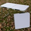 Corner II LTD Aluminum Folding Picnic Table Set