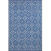 <strong>Carlton Denim Diamond Indoor/Outdoor Rug</strong> by Liora Manne