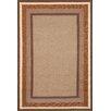 Liora Manne Newport Desert Sand Multi Border Indoor/Outdoor Rug