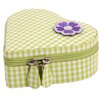 <strong>Children's Heart Zip Jewelry Box</strong> by WOLF