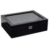 WOLF Savoy 10 Piece Watch Box