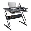Merax Computer Desk with PVC Top