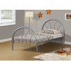 Monarch Specialties Inc. Twin Metal Frame Bed