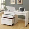 Monarch Specialties Inc. Computer Writing Desk with Medium Storage Drawers
