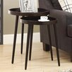 <strong>2 Piece Nesting Tables</strong> by Monarch Specialties Inc.