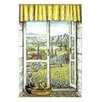 <strong>Stupell Industries</strong> Provence with Pears Wooden Faux Window Scene Painting Print Plaque