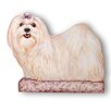 Stupell Industries Maltese Decorative Dog Door Stop