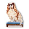 Stupell Industries King Charles Decorative Dog Door Stop