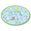 Stupell Industries The Kids Room Birds And Music Oval Wall Plaque
