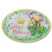 Stupell Industries The Kids Room Little Princess Castle Oval Wall Plaque
