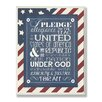 Stupell Industries The Kids Room Pledge Of Allegiance Typography Wall Plaque
