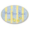 Stupell Industries The Kids Room Wash Your Hands Oval Wall Plaque