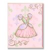 Stupell Industries The Kids Room Pink Princess Dress Rec Wall Plaque