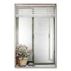 <strong>Stupell Industries</strong> Faux Window Mirror Screen with Blinds and Rose Plant Painting Print