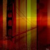 Parvez Taj Golden Gate - Art Print on Premium Canvas