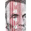 Parvez Taj Abe Lincoln - Art Print on White Pine wood