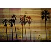 Parvez Taj Bay Cities - Art Print on Natural Pine Wood