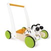 HaPe Push and Pull Galloping Zebra Cart