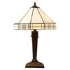 """Warehouse of Tiffany Mission 21"""" H Table Lamp with Empire Shade"""