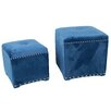 A&B Home Group, Inc 2 Piece Ottoman Set