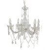 <strong>6 Light Crystal Chandelier</strong> by A&B Home Group, Inc