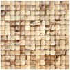 Cocomosaic Coconut Mosaic Tile in Natural Bliss