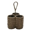 <strong>TAG</strong> Baskets Seagrass Three-Part Caddy