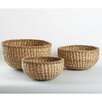 <strong>TAG</strong> Natural Home 3 Piece Dhama Round Basket Set