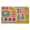 <strong>Easter Parade Coir Mat</strong> by TAG