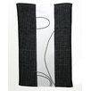 TAG Corelle Simple Lines Embroidered Waffle Weave Dishtowel