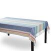TAG Coastal Aragon Stripe Fringed Tablecloth
