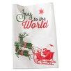 TAG Joy to the World Dishtowel
