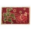 TAG Santa's Flight Coir Mat